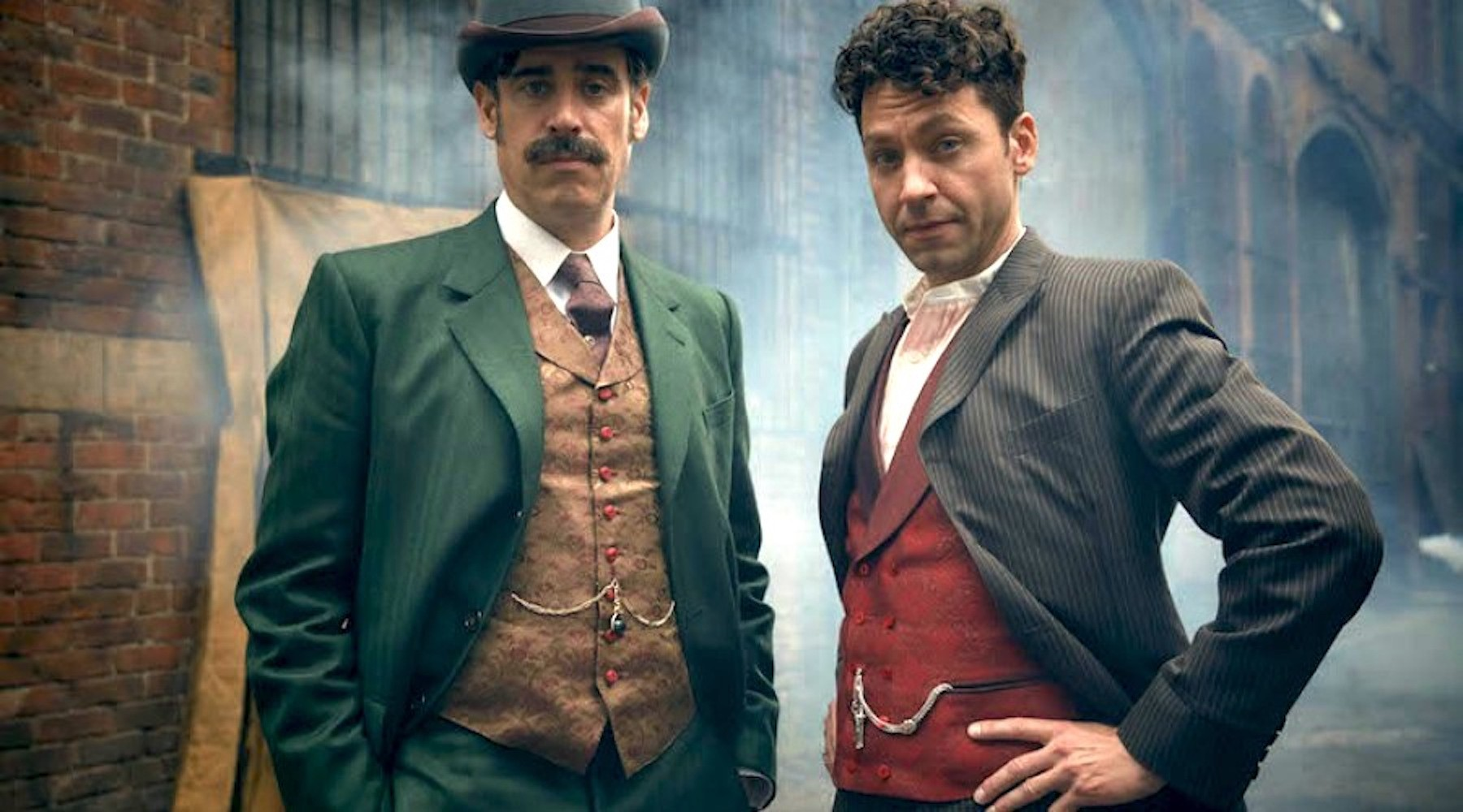 Stephen Mangan & Michael Weston - Houdini and Doyle (2016)